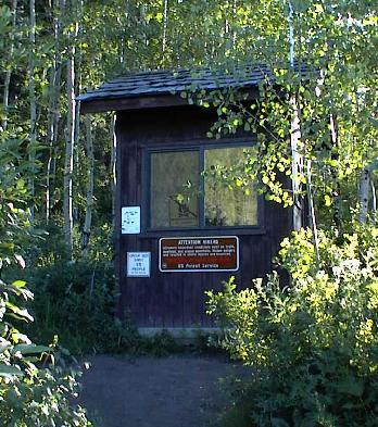 Timpooneke Trail Head Hut