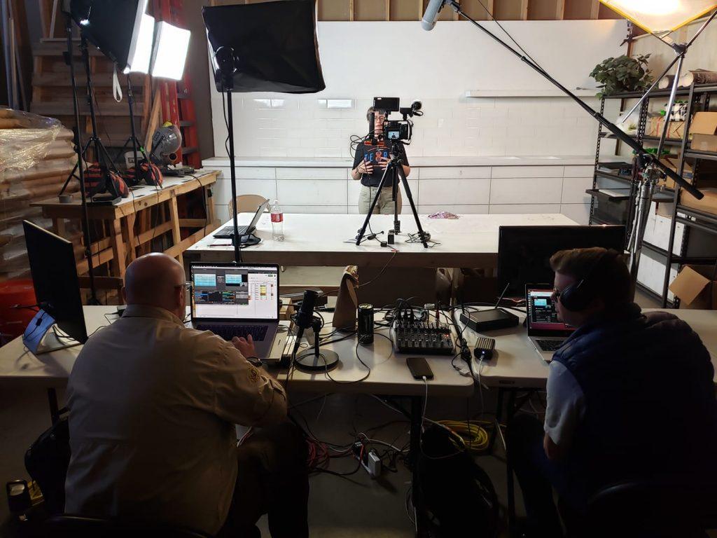 Behind the scenes at M10